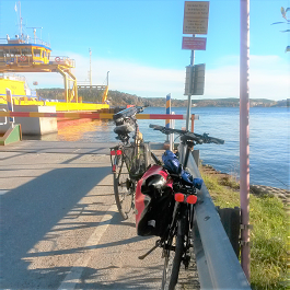 Self guided bike tour Stockholm Eker� Sverige