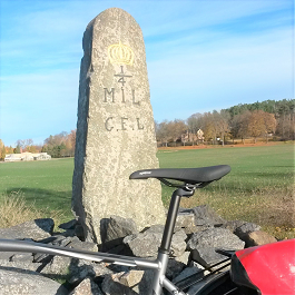 Self guided bike tour Stockholm Eker� Runsten Sverige