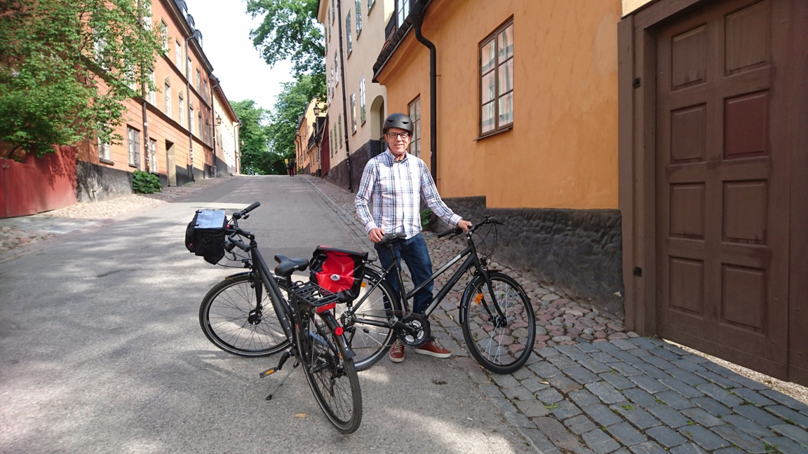 Stockholm guided bike tour